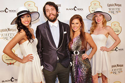 Celebrities at Fillies & Stallions Derby Party with Celebrities