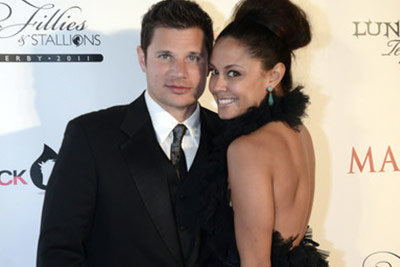 Nick Lachey Fillies and Stallions Party Celebrities